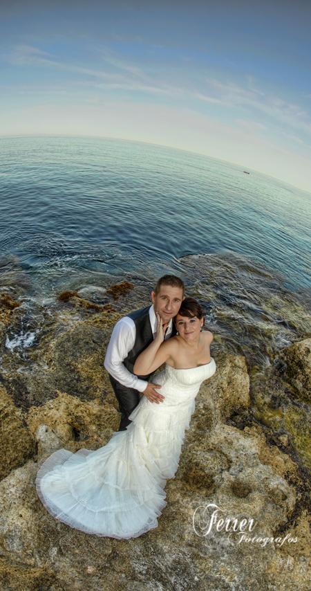 Diego y Encarni, reportaje del dia de su boda en Adra  (3/3)