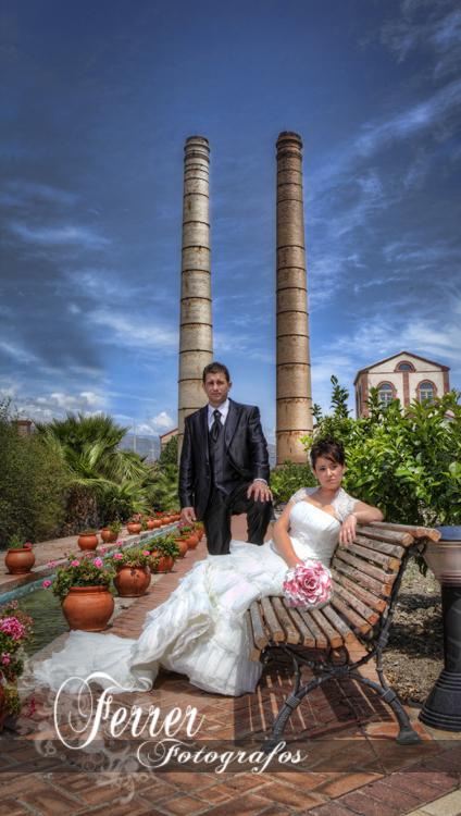 Diego y Encarni, reportaje del dia de su boda en Adra  (1/3)