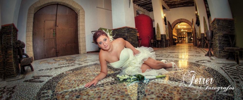 A final de Agosto se celebró la boda de Victoria y Sergio en Albondón  (3/3)