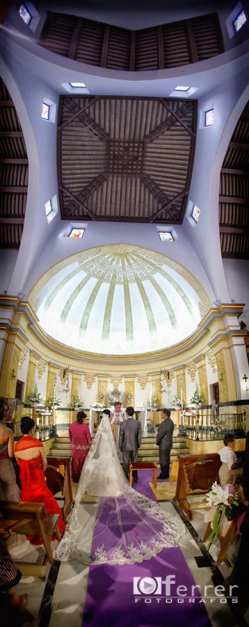 Ivan y Anabel en Iglesia San Isidro Labrador