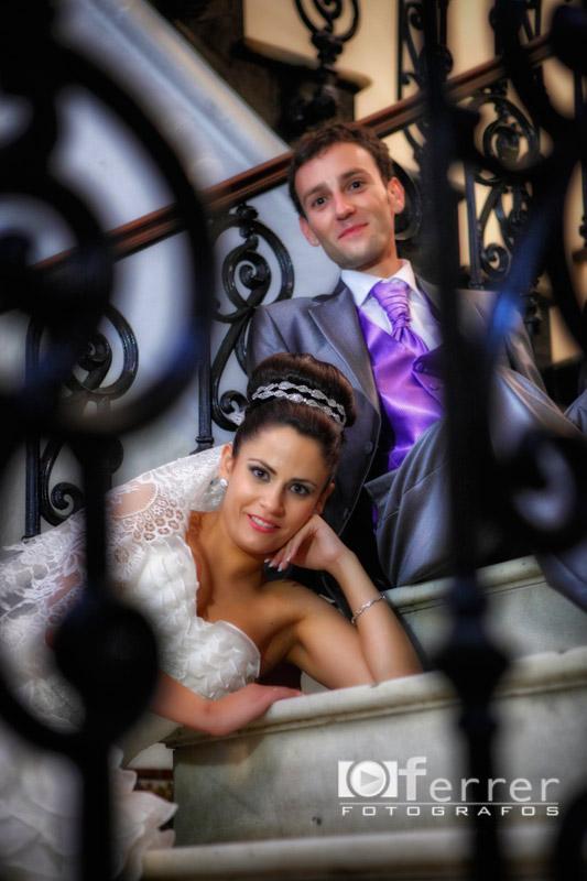 Ivan y Anabel en el casino de Dalias