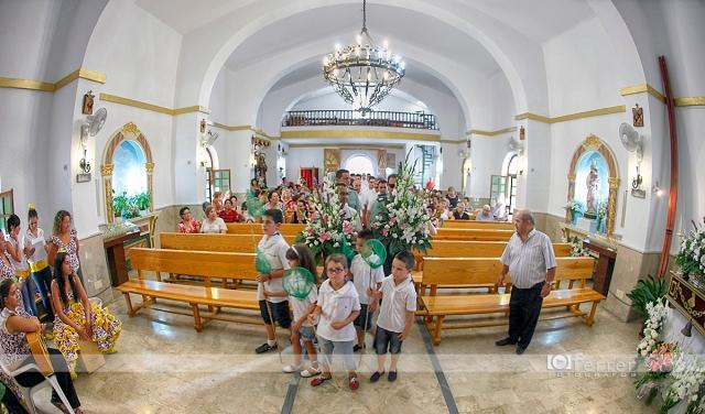 Virgen del Carmen Balerma año 2012