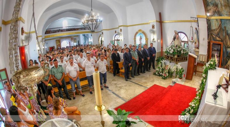 Misa Virgen del Carmen Balerma año 2012