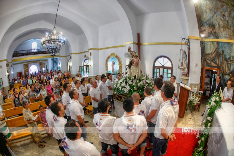 Salve marinera a la Virgen del Carmen Balerma año 2012
