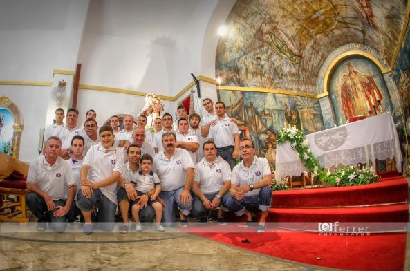 Los grandes protagonistas y sufridores de la procesion de La Virgen del Carmen