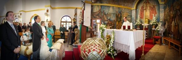 Iglesia de Balerma por Miguel Ferrer