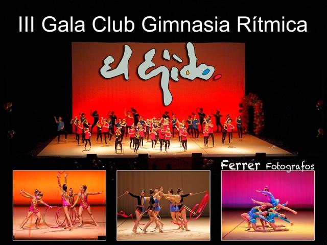 III Gala gimnasia ritmica el ejido