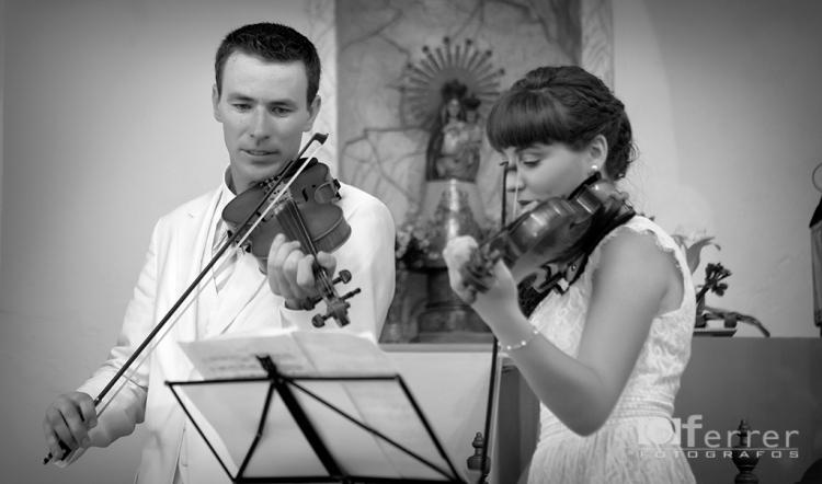 La Musica en el enlace de Patricia y Manuel