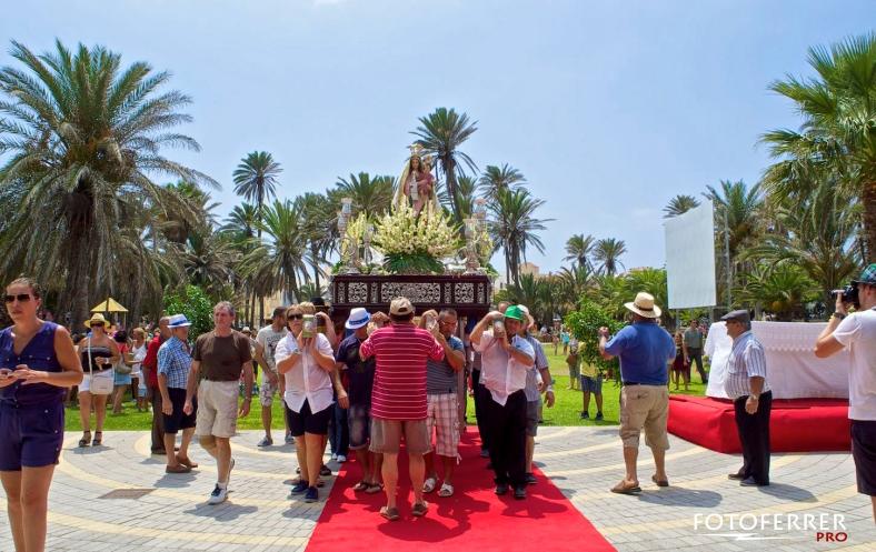 Romeria de la Virgen de las Mercdes Balerma