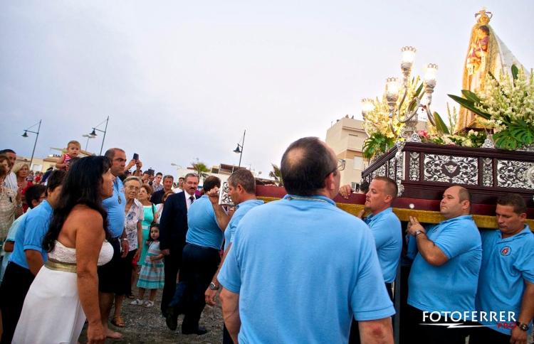 Enbarque de la Virgen de las Mercdes Balerma