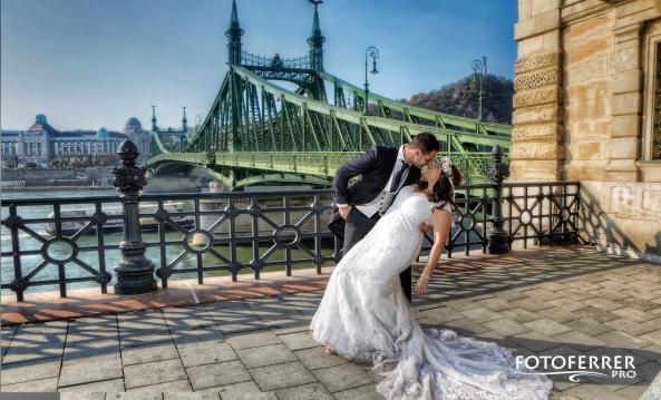 la perla del danubio puente verde