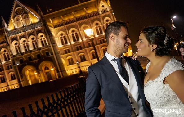 El parlamento Budapest Nadina y Mario
